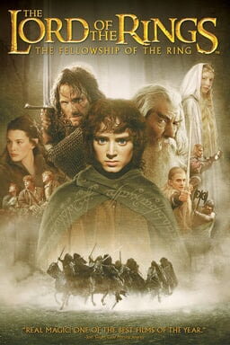 Lord of the Rings: Fellowship of the Ring keyart