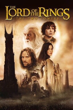 Lord of the Rings: Two Towers keyart