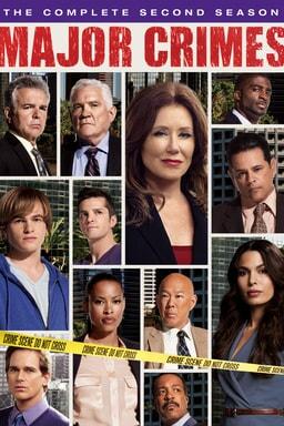 Major Crimes: Season 2 keyart
