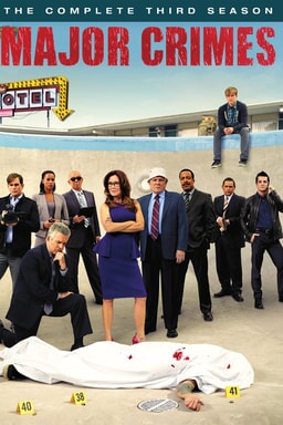 Major Crimes: Season 3 keyart