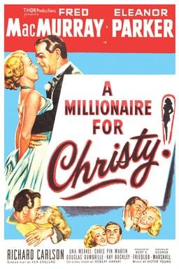 A Millionaire for Christy keyart
