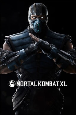 Mortal Kombat XL: Sub-Zero character with game logo