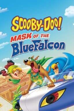 Scooby-Doo! Mask of the Blue Falcon - Key Art