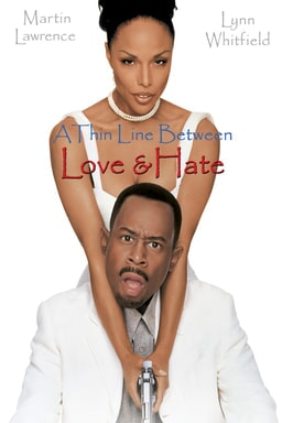 A Thin Line Between Love and Hate - Martin Lawrence, Lynn Whitfield in white dress and tuxedo