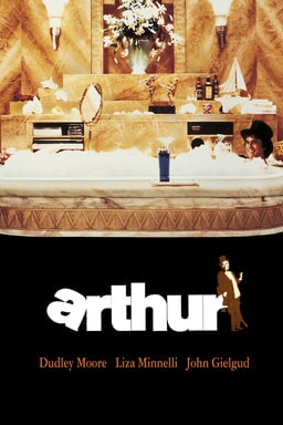 Arthur (1981) - Dudley Moore, Lizza Minnelli, John Gielgud - Moore in a tub full with bubbles