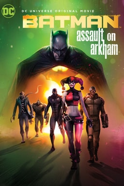 batman assault on arkham poster