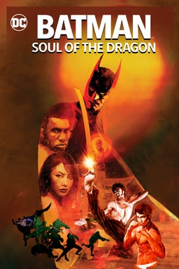 Batman: Soul of the Dragon - Key Art