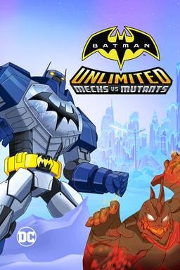 batman unlimited mechs vs mutants poster