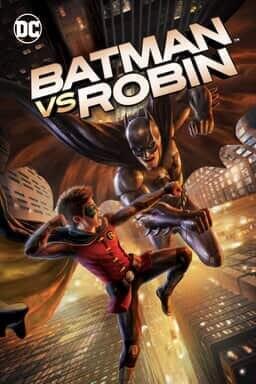 Batman vs. Robin - Key Art