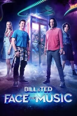Bill & Ted Face the Music - Samara Weaving, Alex Winter, Keanu Reeves, Kristen Schaal and other cast
