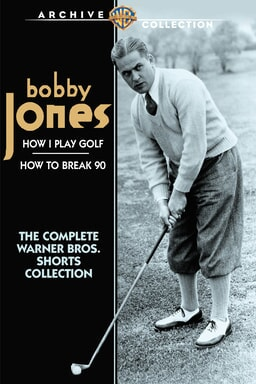 Bobby Jones playing golf