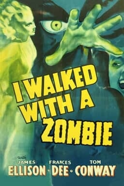 I Walked with a Zombie - Key Art
