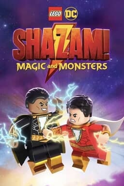 LEGO DC Shazam: Magic and Monsters - Key Art