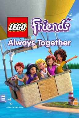 lego friends always together poster