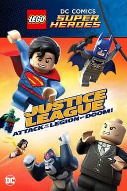 LEGO DC Super Heroes: Justice League: Attack of the Legion of Doom! - Key Art