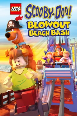LEGO Scooby-Doo! Blowout Beach Bash - Key Art
