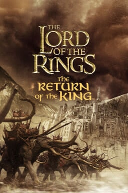 The Lord Of The Rings: The Return Of The King - Elephants charging towards towards