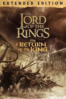 The Lord of the Rings: The Return of the King (Extended Edition) - Elephants with large tusks fight