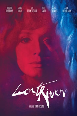 Lost River - Christina Hendricks as Billy in red and blue light
