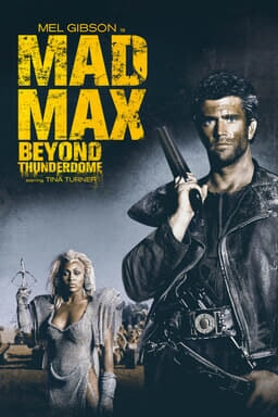 Mad Max 3: Beyond Thunderdome - Key Art