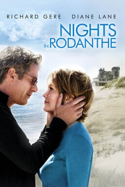 Nights in Rodanthe - Richard Gere and Diane Lane on beach hand on face