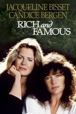 Rich and Famous - Jacqueline Bisset and Candice Bergen leaning against each other smiling