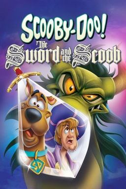 Scooby-Doo! The Sword and the Scoob - Scooby-Doo and Shaggy in a bubble screen with green dragon