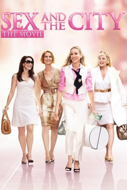 Sex and the City: The Movie - Girls walking along the city with fashionable outfits and blurred bg