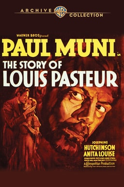 the story of louis pasteur poster