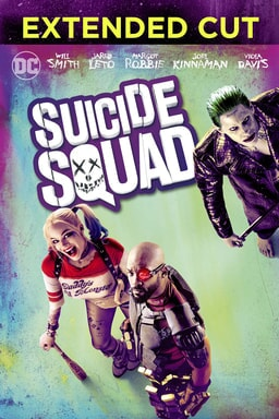 suicide squad extended cut poster