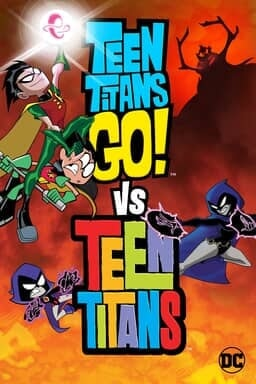 Teen Titans Go! Vs. Teen Titans - Key Art