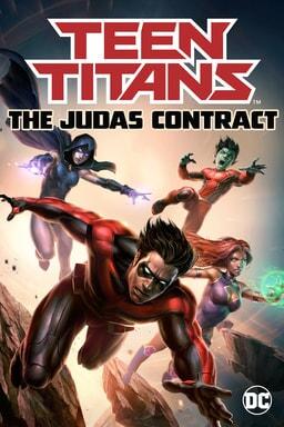 teen titans the judas contract poster