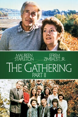 The Gathering - Part II - Maureen Stapleton and Efrem Zimbalist, Jr. looking to the top