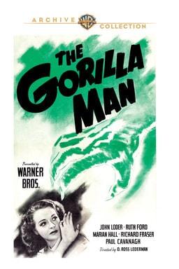 The Gorilla Man - Key Art