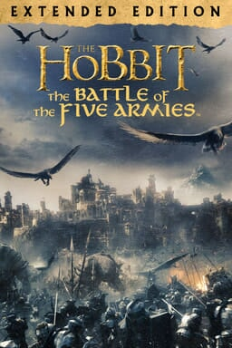 The Hobbit: The Battle of the Five Armies (Extended) - A battle against orcs while eagles fly