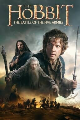 The Hobbit: The Battle of the Five Armies - Key Art