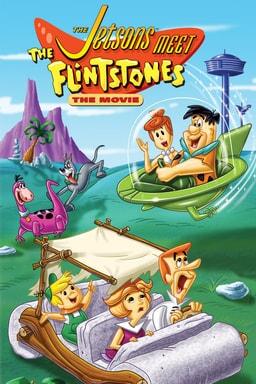 The Jetsons Meet The Flintstones - Key Art