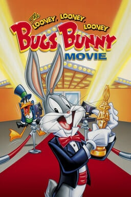 The Looney, Looney, Looney Bugs Bunny Movie - Bugs Bunny holding trophy on red carper