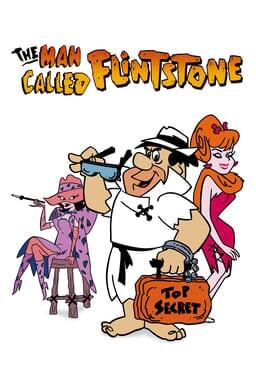 The Man Called Flintstone - Cast sitting with Flintstone holding top secret orange case and sunglass