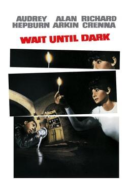 Wait Until Dark - Audrey Hepburn holding a match in the dark with a boy