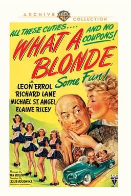 What A Blonde - Key Art