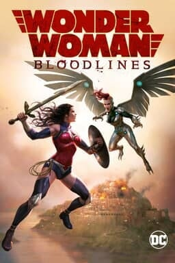 Wonder Woman: Bloodlines - Key Art