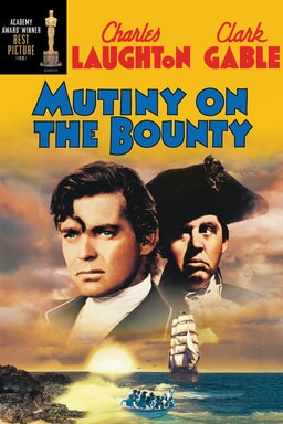 Mutiny on the Bounty 1935 keyart