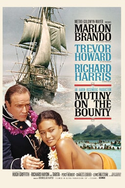 Mutiny on the Bounty 1962 keyart