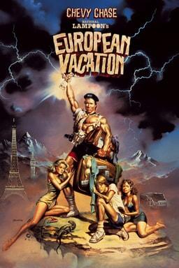 National Lampoons European Vacation keyart