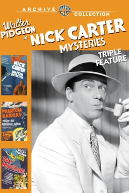 Nick Carter Mysteries Triple Feature keyart