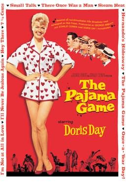 Pajama Game keyart