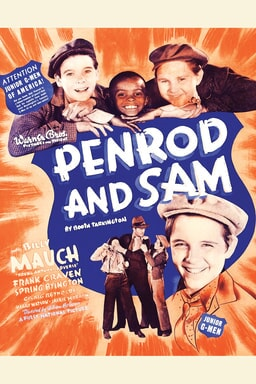 Penrod and Sam 1937 keyart