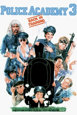 Police Academy 3: Back in Training keyart
