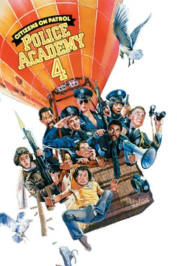 Police Academy 4: Citizens on Patrol keyart